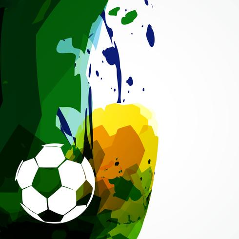 vector soccer design