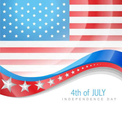 july 4th america vector