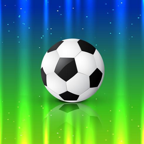 vacker fotbollsdesign