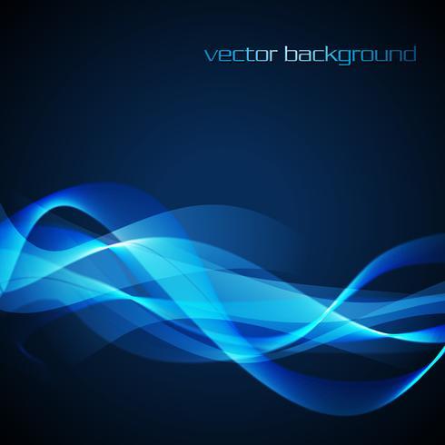 Vector neon wave