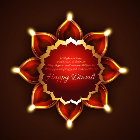 Creative background of diwali