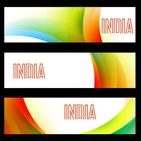 indiska flagghuvuden