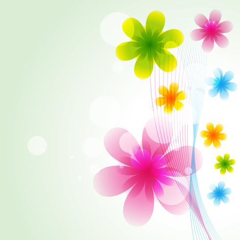 beautiful vector flower