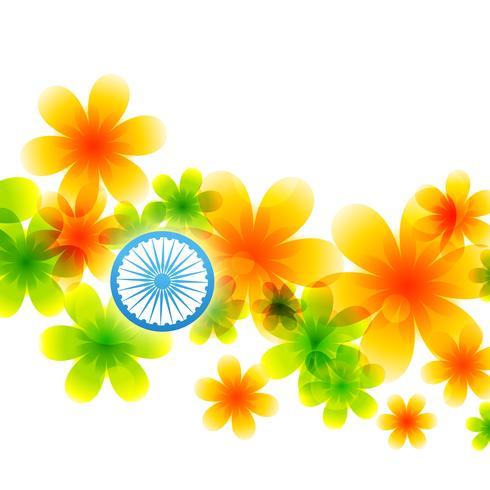 indisk flaggdesign