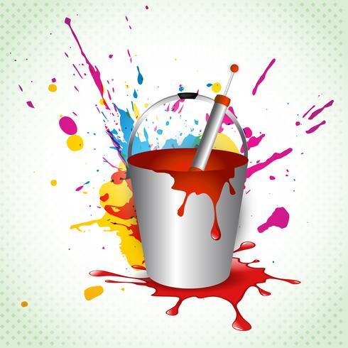 vector holi background
