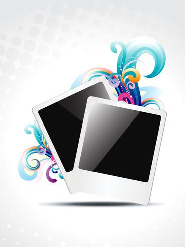 photo frame vector design