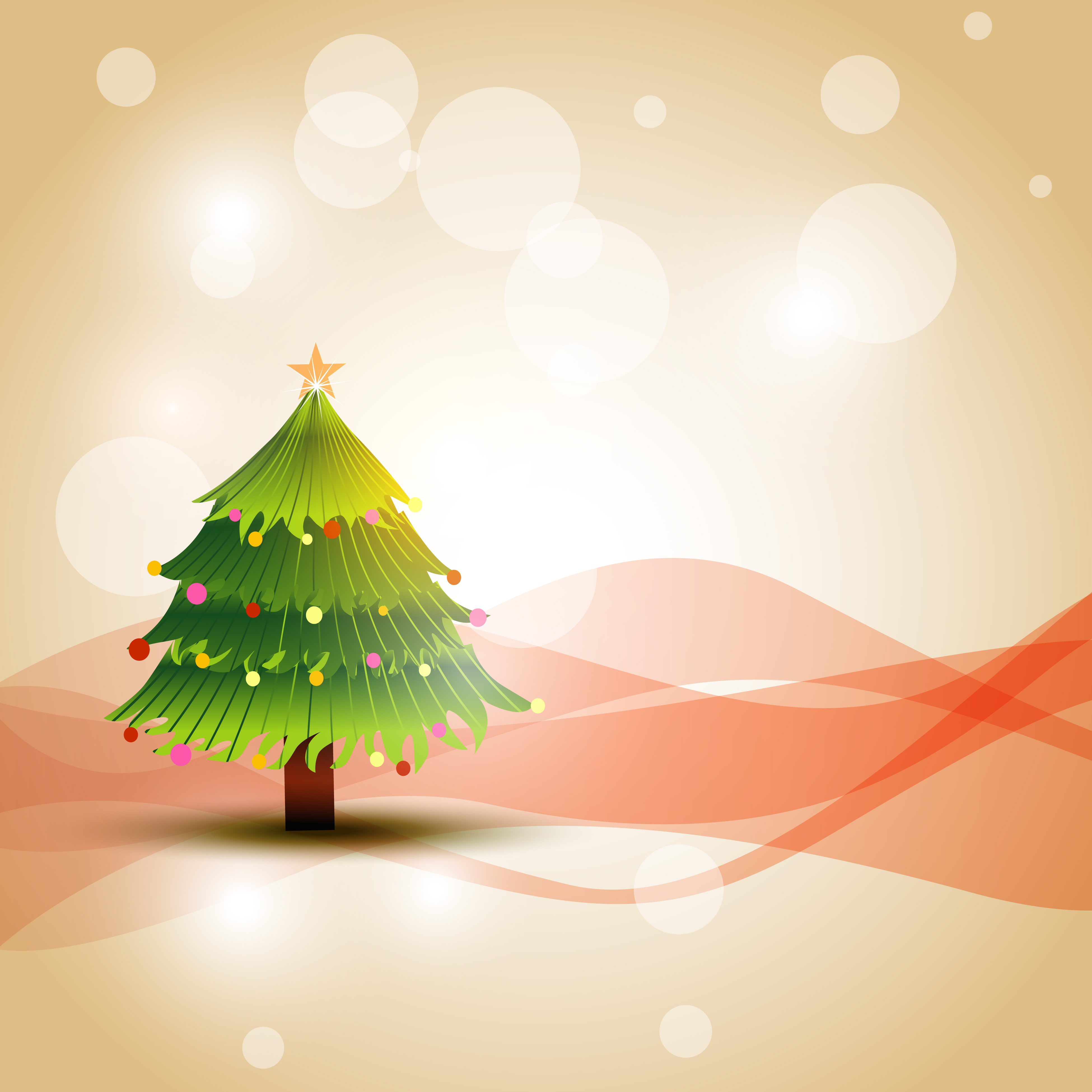 Beautiful Christmas Tree Pictures: Download Free Vectors, Clipart