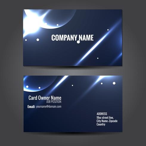 creative business template design