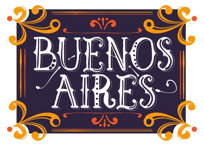 Buenos Aires Estilo Fileteado