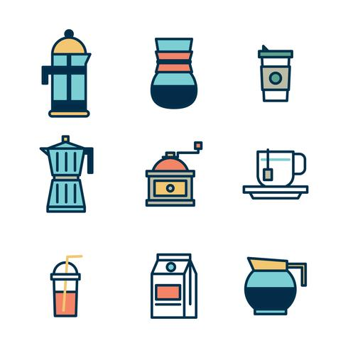 Making Coffee Icons