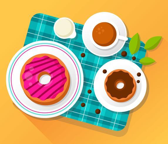 Donuts-Vektor-Illustration