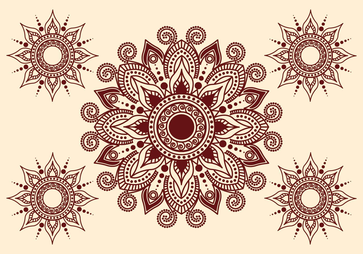 Henna Tattoo Free Vector Art 4045 Free Downloads