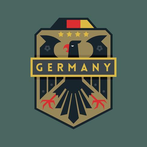 Insignias de fútbol de la Copa Mundial de Alemania