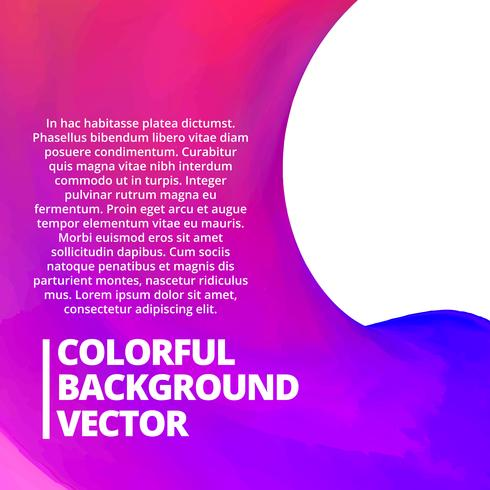 colorful background with space for your text