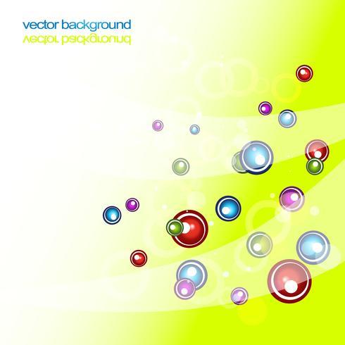 circles shiny abstract vector colorful artwork