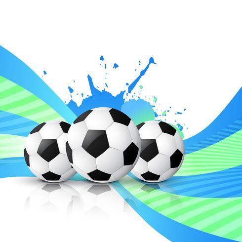 vector de diseño de fútbol
