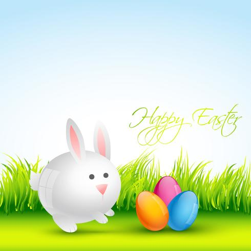 colorful easter design