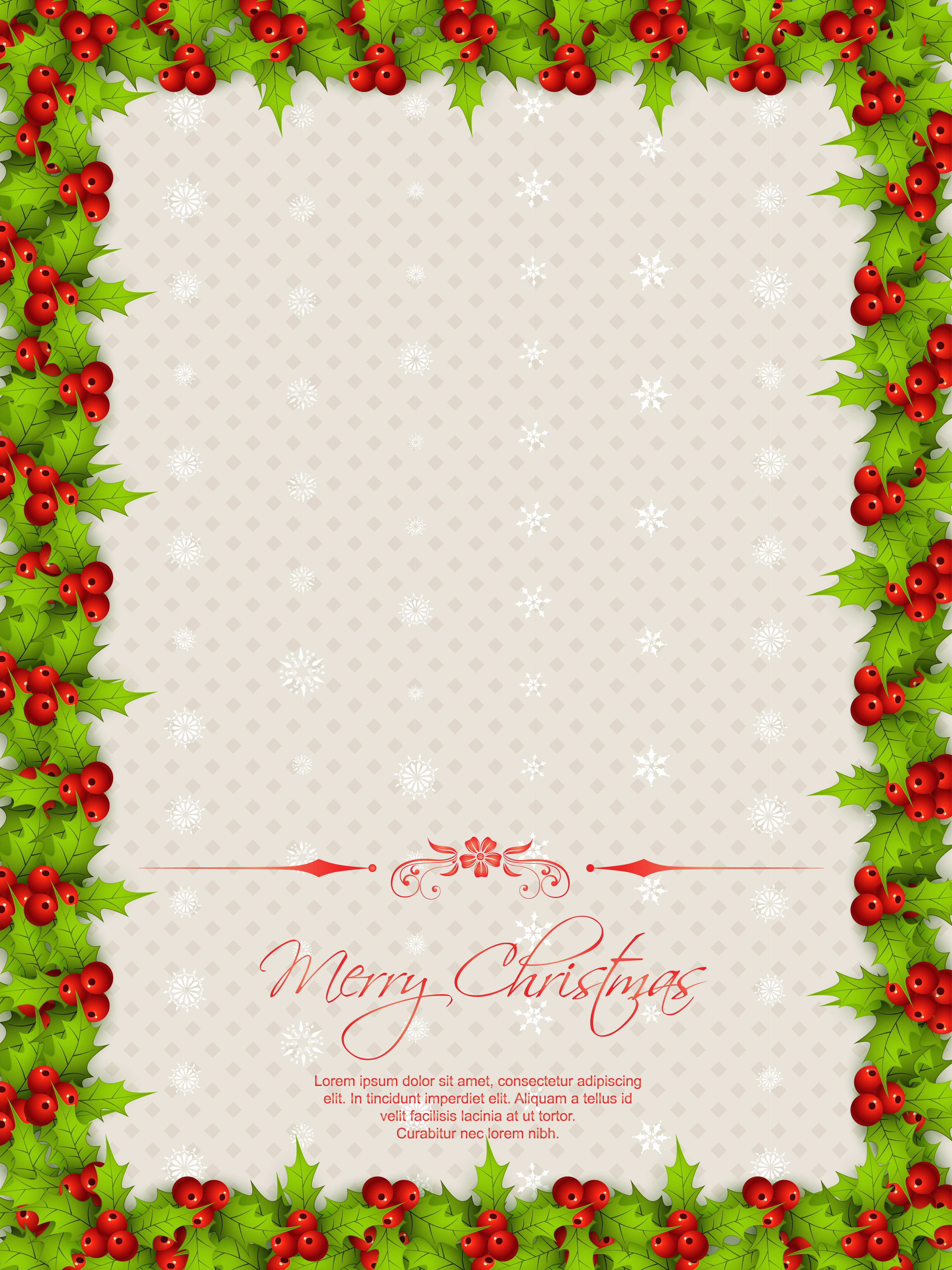 christmas border free vector art 10649 free downloads