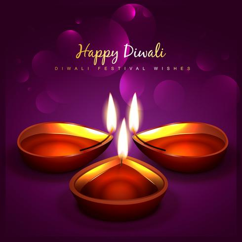 stylish diwali background