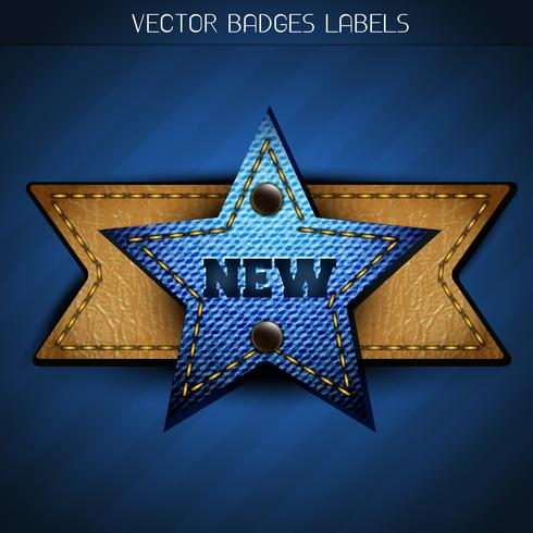 new star label