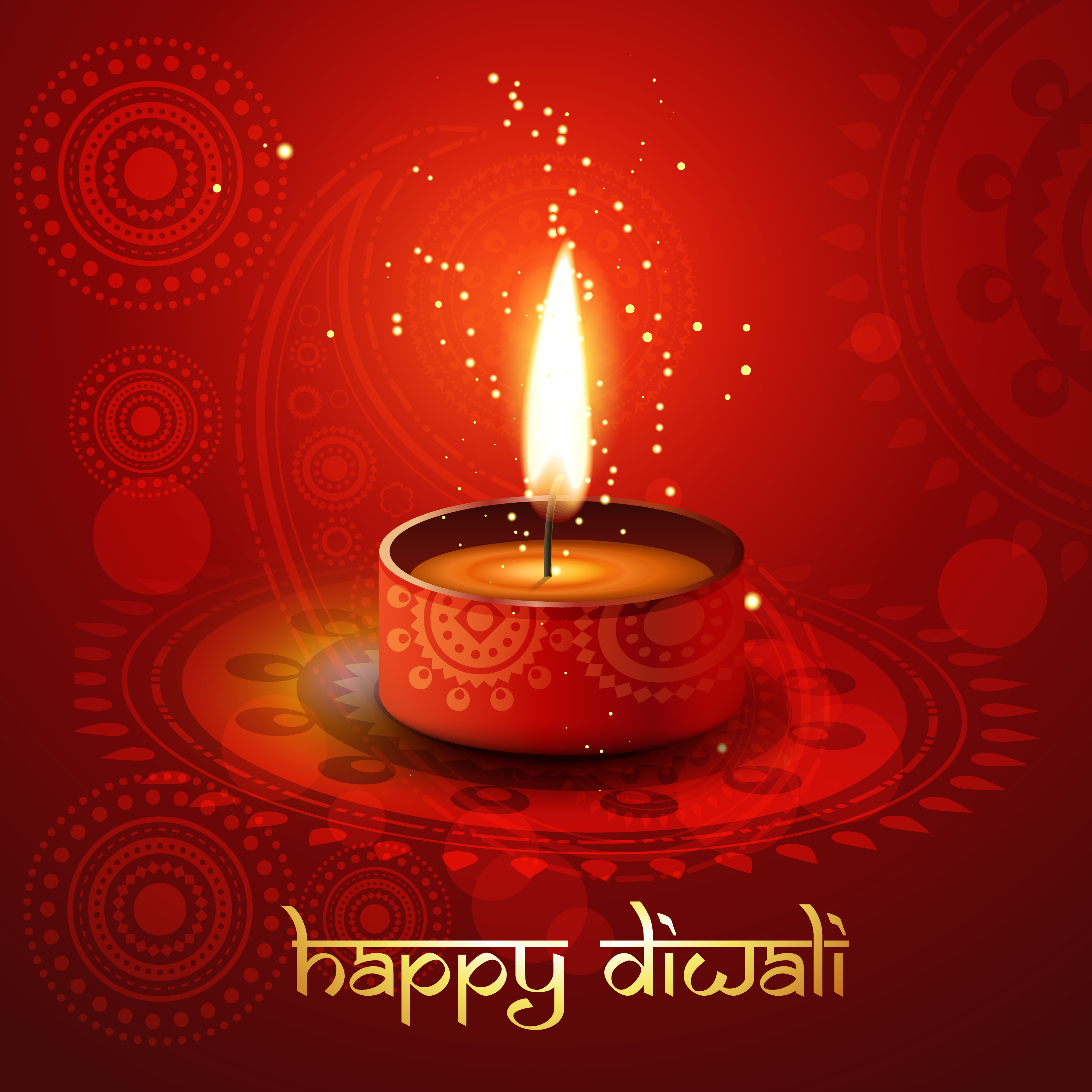 Diwali Card Free Vector Art 21362 Free Downloads