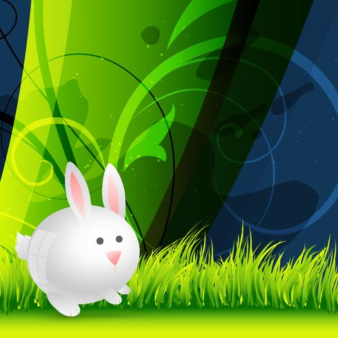 vector cute rabbit