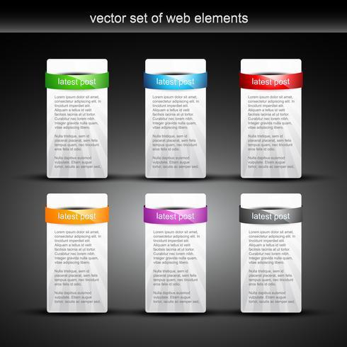 éléments web