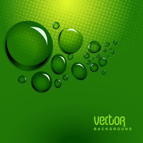 vector de burbujas