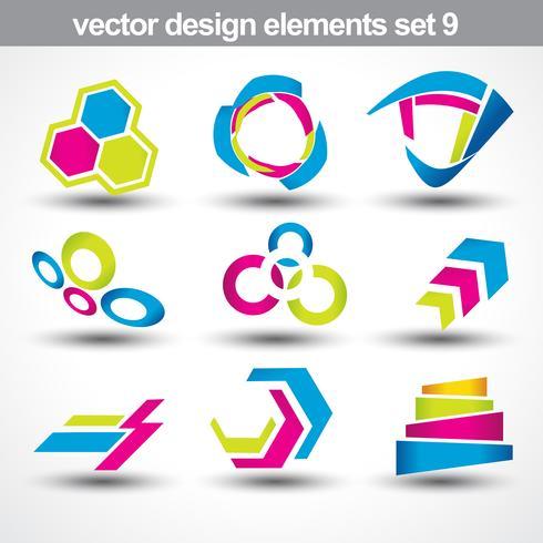 abstrakt form vektor