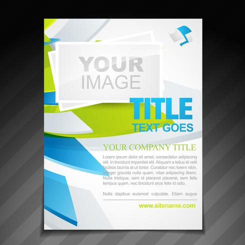 company brochure illustration