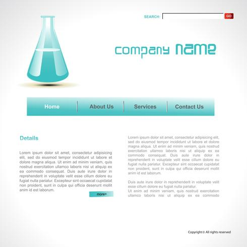 vector science template