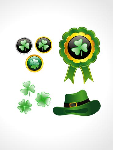 St. Patrick's Day Elemente