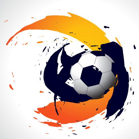 vector abstracte voetbal