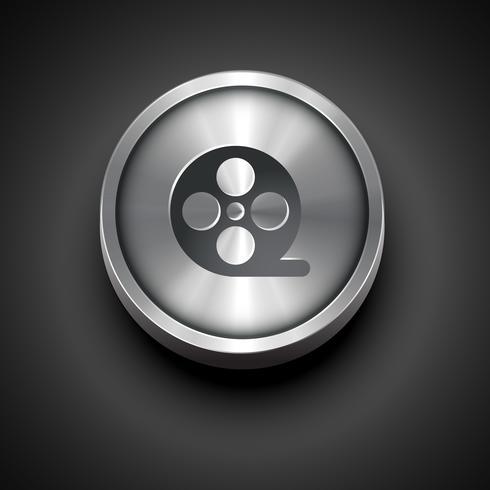 vector metal icon