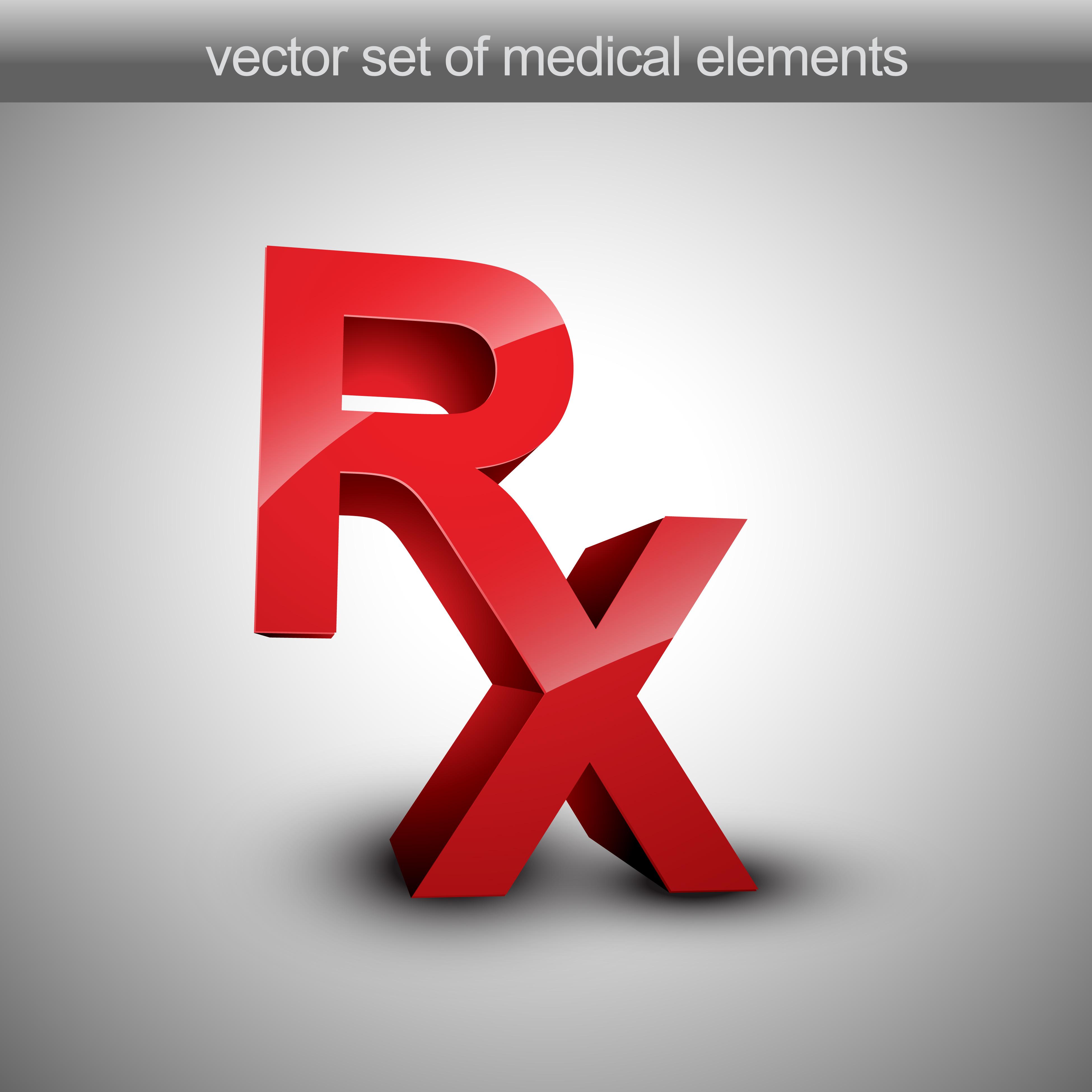 Pharmacy Logo Vector: Rx Vector 221411 Vector Art At Vecteezy