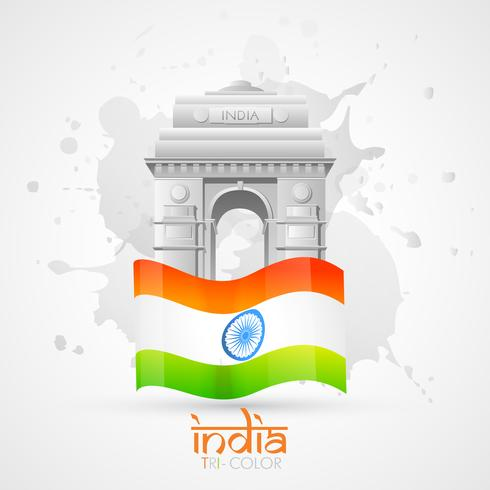 india gate vector