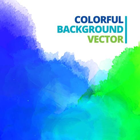 background of multi color ink splash vector
