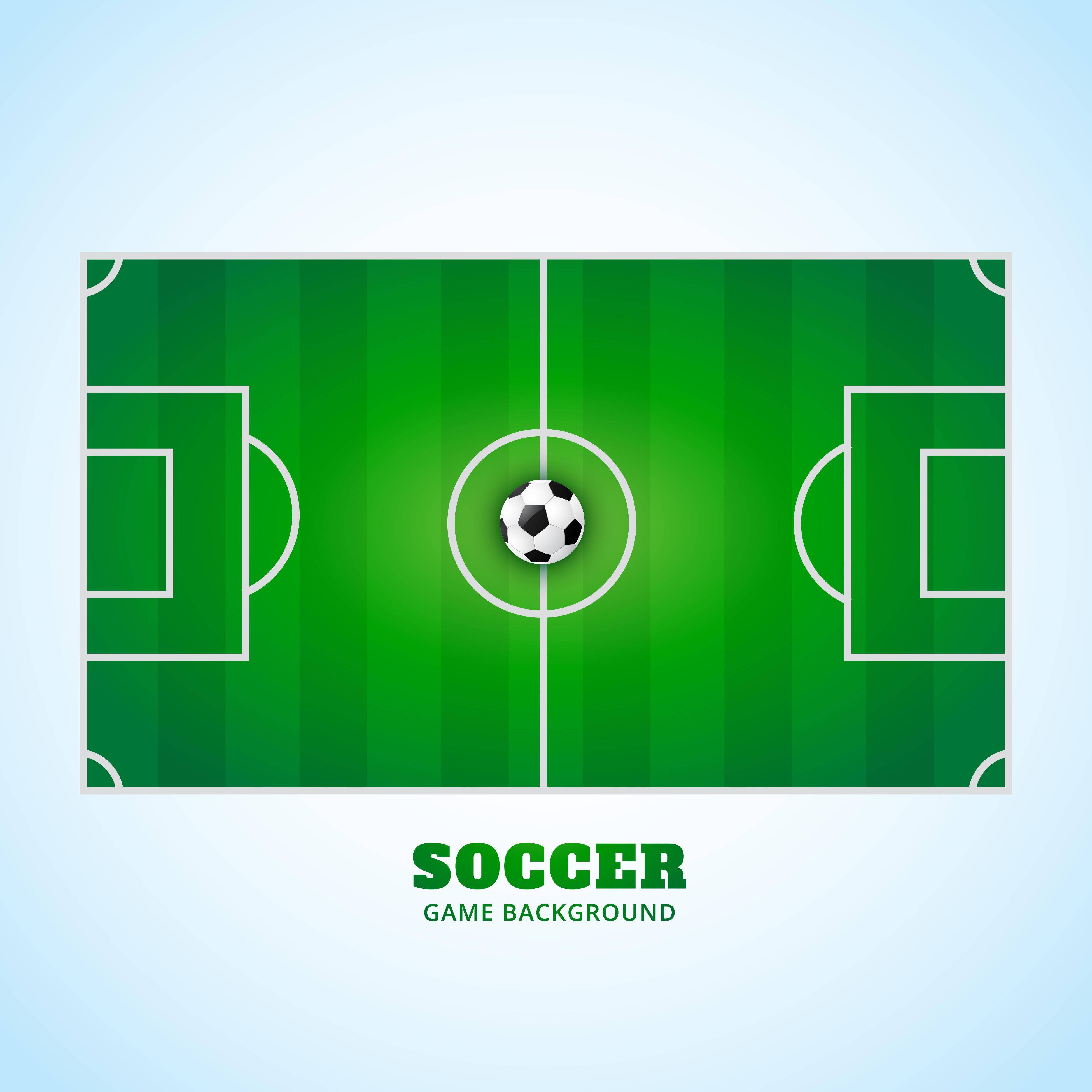 Stadium Lights Svg: Soccer Stadium Free Vector Art