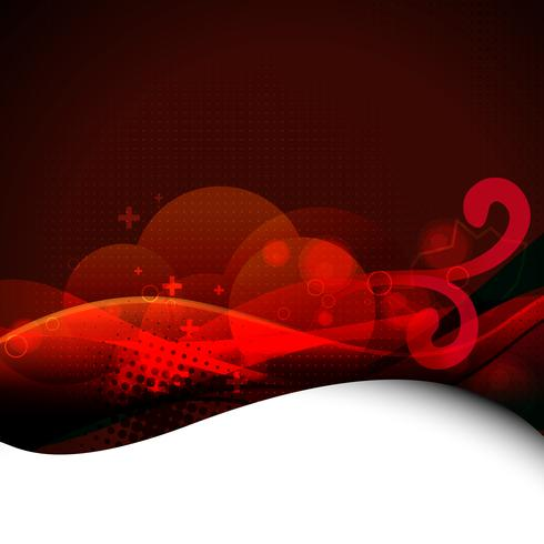 beautiful vector eps10 red background