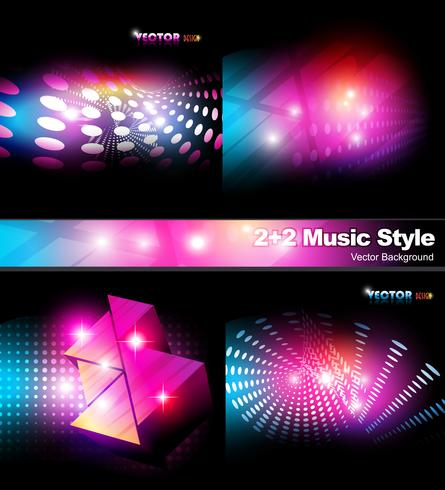 music style background