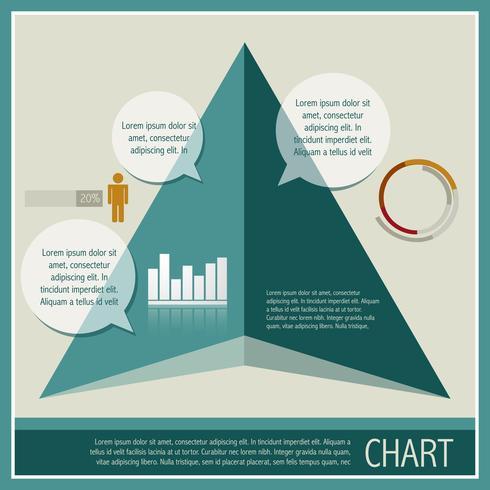 ilustración de la carta de infografía