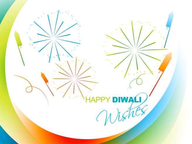 stylish diwali greeting