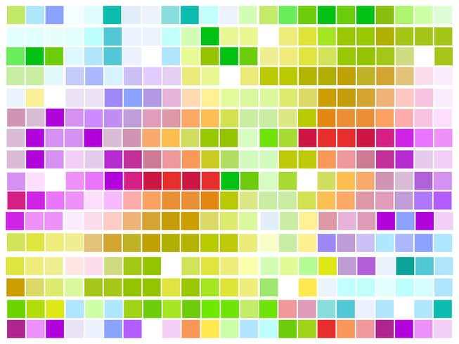 vector colorful mosaic