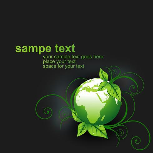 green vector earth