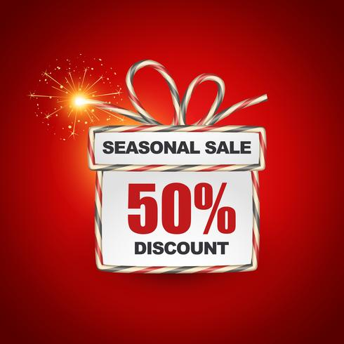 seasonal sale label