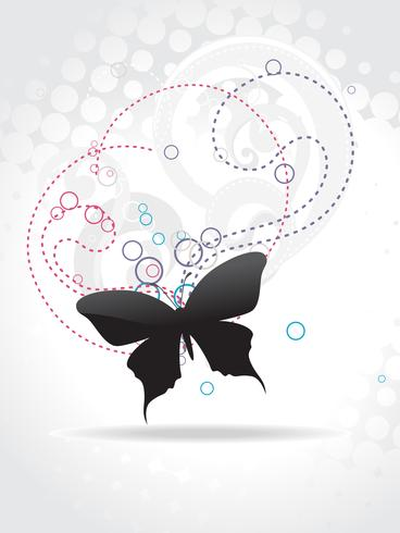 Beautiful butterfly vector art