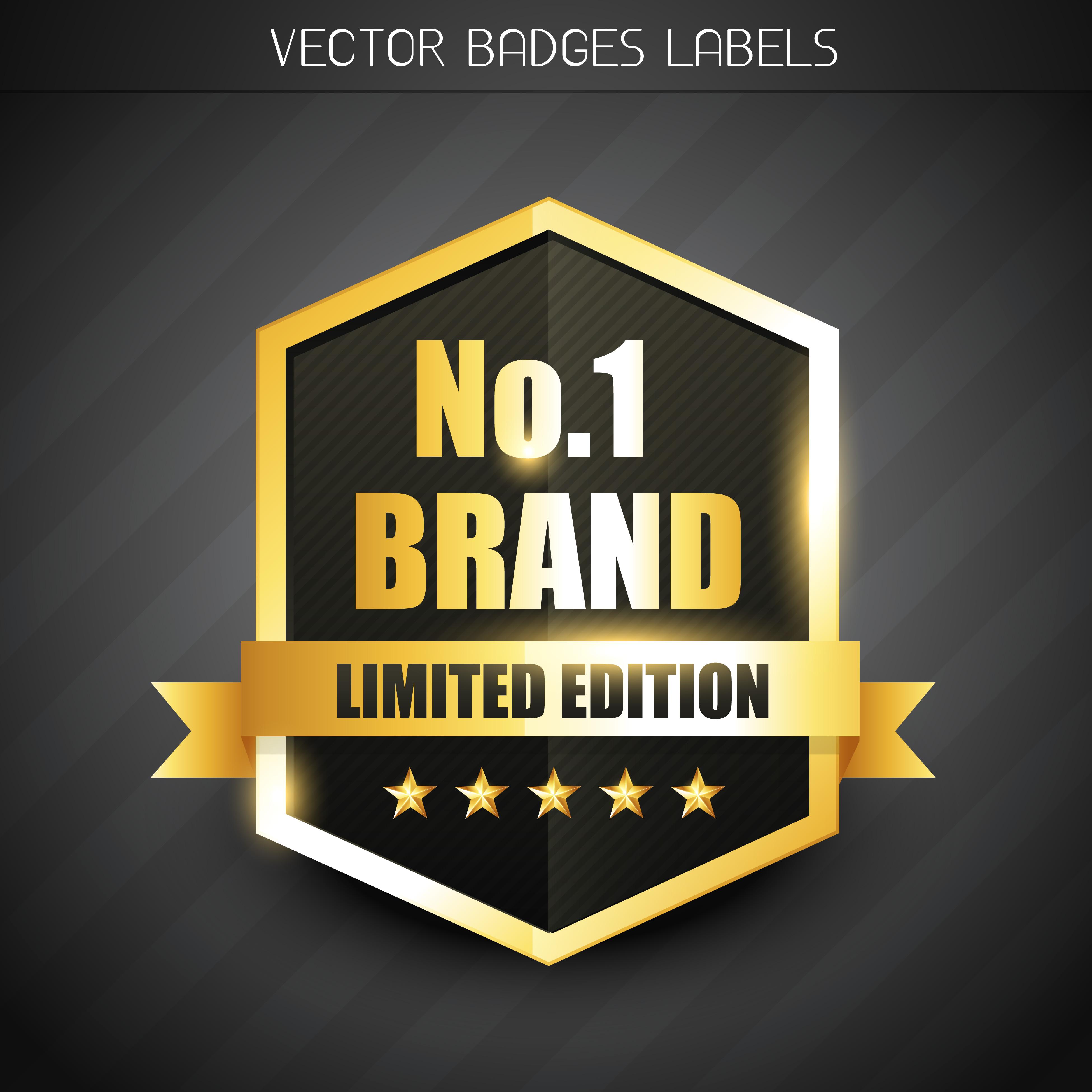 original brand label