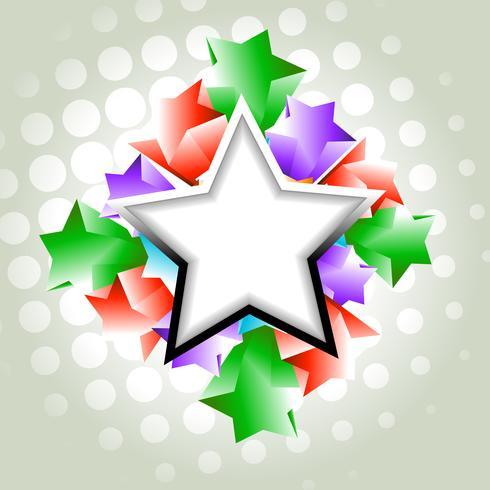 estrelas do vetor