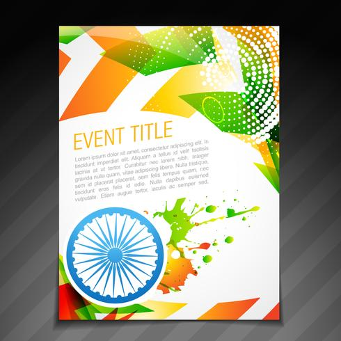 indian flag card