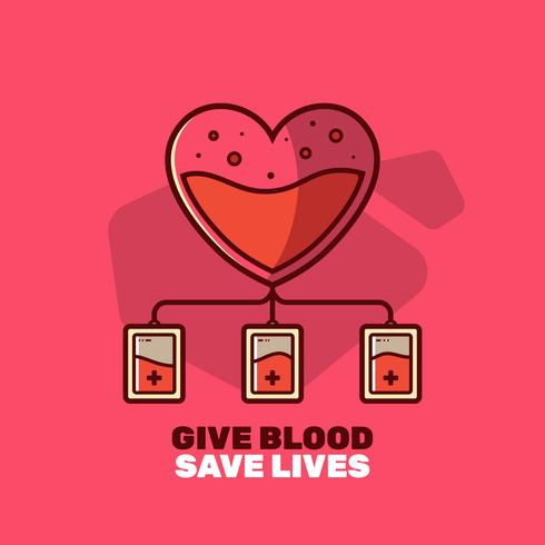 Blood Drive Vector